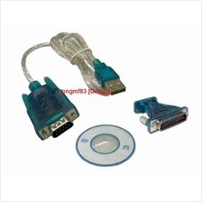 USB 2.0 to RS232 DB9 Male(Serial) / DB25 Male Converter Cable(CP-C-144