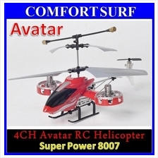 High Quality 4 CHANNEL AVATAR Remote RC Helicopter w LED Light, Gyro