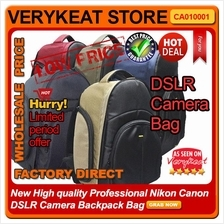 New High quality Professional Nikon Canon DSLR Camera Backpack Bag