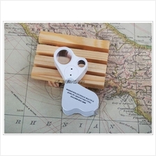 A91 Currency Detecting Double Lens Magnifier 30x 60x