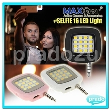 MAXGear Universal Selfie LED Enhancing Phone Light Night Flash01 scs