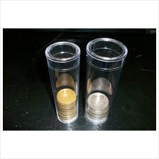 PE Coin Storage box Cylinder Container