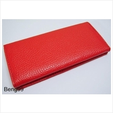 Fashion Long Wallet Unisex Card Cash Red Champ