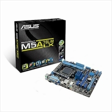 READY STOCK NEW~~ Asus M5A78L-M LX AMD AM3+ Socket Motherboard