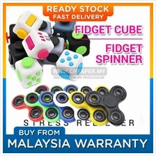 HOT ITEM! Fidget Cube & Fidget Spinner Stress Reliever