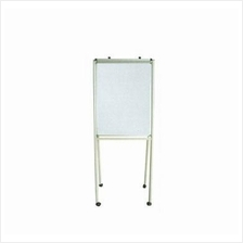 Flip Chart Board with roller (non-adjustable) 4 x 3ft White Board KL