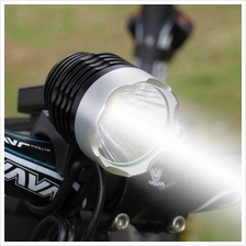 USB CREE XM-L2 T6 LM LED Outdoor Bicycle Light Rechargeable Battery