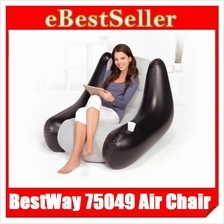 BestWay 75049 Inflatable Lounge Comfort Quest Single Air Chair Sofa