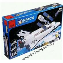 Lego Compatible Enlighten 514 Space Series