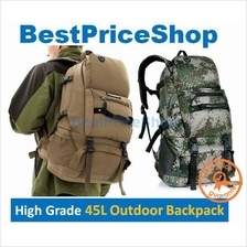45L LocalLion Water Resistant Army Hiking Camping Outdoor Backpack Bag