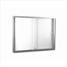 Sliding Glass Door With Notice Soft Board 4′x6′ ampang ban