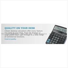 CITIZEN Calculators Printers Check & Correct GST Tax Cost Sell Margin