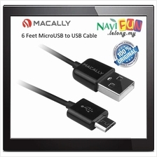 ★ MACALLY 6 Feet MicroUSB to USB Cable