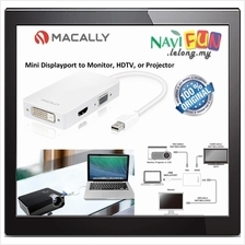 ★ MACALLY Mini Displayport to Monitor, HDTV, or Projector