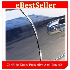 Car Side Doors Protect Anti Scratch 8pcs Soft Rubber Strip