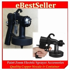 Paint Zoom Pro Electric Sprayer Gun Nozzle Container Accessories