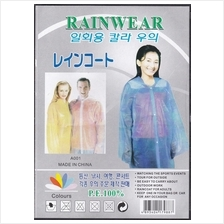 105 - Disposable Rain Coat for Adult)