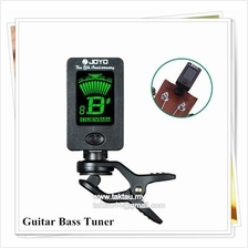 LCD Display Guitar Tuner Clip Tuner for Chromatic Bass Violin Ukulele