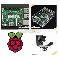 Raspberry Pi 3 + Case + 8GB NOOBS + 5V 2A Power Adapter + HDMI Cable