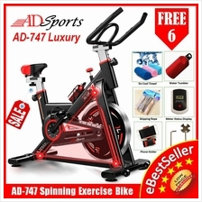 ADSports AD-747 LUXURY Fitness Spinning Exercise Bike Sport Bicycle