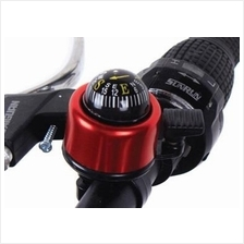 130 - Bike Bicycle Metal Ring Handlebar Bell Sound Alarm with COMPASS