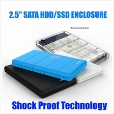 SEATAY USB 3.0 2.5' Shockproof External Hard Disk Drive HDD Enclosure