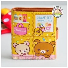 Rilakkuma Bear Lovely Matt PU Purse/Wallet_[RK-53]