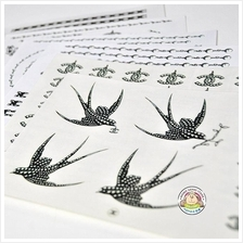 Vogue Fashion Waterproof Tattoo Sticker Per Set - Best for Party & Fun