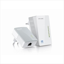 TL-WPA4220KIT 300Mbps Wireless Powerline Homeplug WiFi Extender
