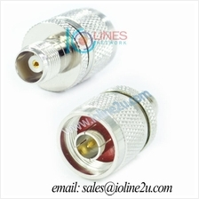 TNC female to N-Type male Connector adapter 3G 4G WIFI Radio HQ