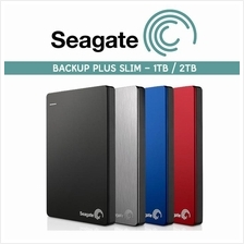 Seagate HDD 1TB 2TB Backup Plus Slim Portable External Hard Disk Drive
