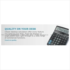 CITIZEN Calculators Desktop Semi Desktop series