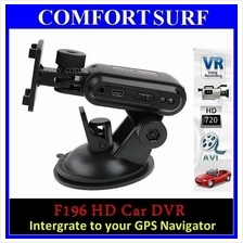 F196 Mini Vehicle HD Car DVR wf 3.0MP HD Recording Camera