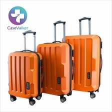 Fashion Gorgeous Solid Hard Case ABS Luggage Bag Set 20' 24' 28'