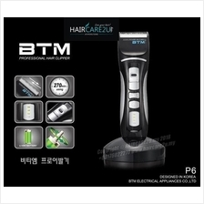 BTM P6 Professional Cordless Hair Clipper