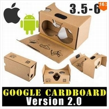 DIY Google Cardboard VR 3D Glasses Android iOS iPhone Samsung HTC