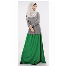 2 Pieces Basic Casual Top with Long Skirt (Including Shawl) - BOWH-101 811e973f35