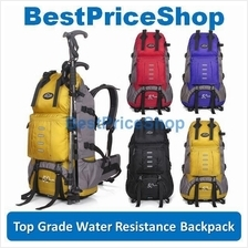 50L Waterproof Travel Backpack Hiking Camping Outdoor Sport Bag MYX442