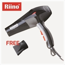 Riino Professional Hair Dryer 2200/2600W Saloon Grade Hydra Ion Care