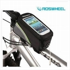 SALES! ROSWHEEL BICYCLE / CYCLING TOP TUBE SMART PHONE BAG - FOC CABLE
