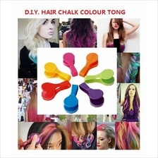 Image Is Loading 6 Colors Diy Temporary Hair Chalk Comb Disposable