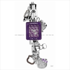 Chronotech CT6323L/14M Hello Kitty charm bracelet purple *Promotion*