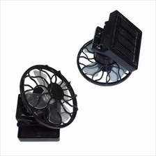Solar Energy Powered Clip-on Mini Fan