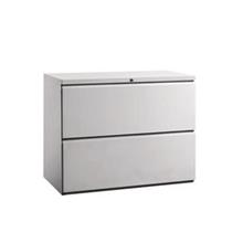 Steel Lateral Filing Cabinet 2 Drawer LF2D furniture klang valley PJ
