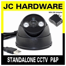 DIY Standalone CCTV Camera TF SD card Night Vision Dome Infrared Array