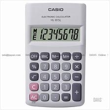 CASIO HL-815L-WE Calculator Practical Portable Type white