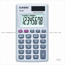 CASIO HS-8LV-WE Calculator Practical Portable Type white