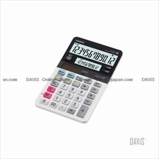CASIO JV-220 Calculator Dual Display Compact Desk 12 digits