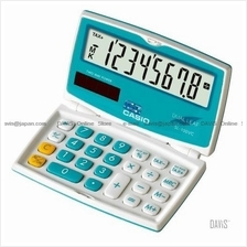 CASIO SL-100VC-BU Calculator Practical Colourful & Friendly blue