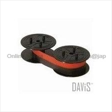 CASIO RB-02 Calculator Ink Ribbon For DR-models 13mm x 6m red black